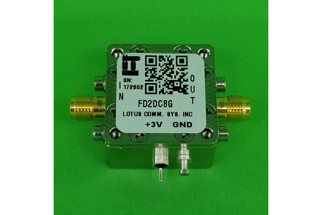 Frequency Divider (Divide by 2) 100 MHz ~ 8 GHz 1