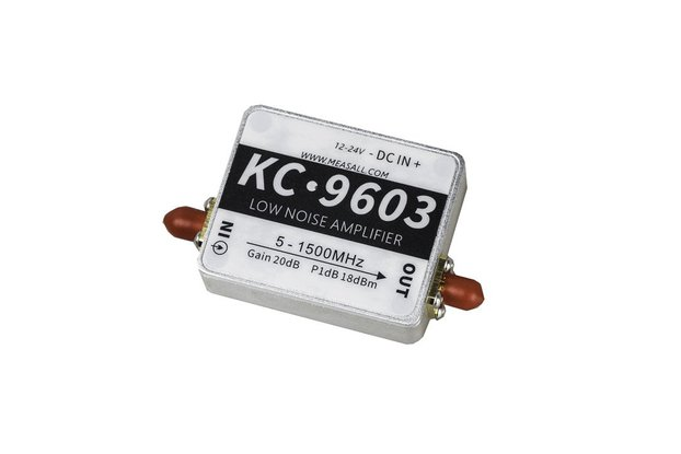 5MHz-1.5GHz 20dB low noise amplifier