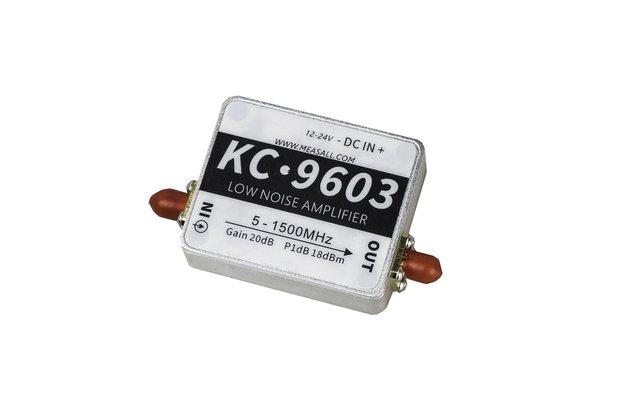 5MHz-1.5GHz 20dB low noise amplifier
