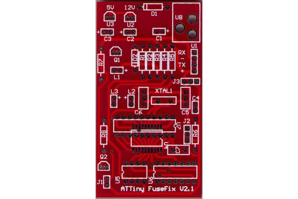 ATTINY Fuse Programmer/Fuse Doctor Blank PCB 1