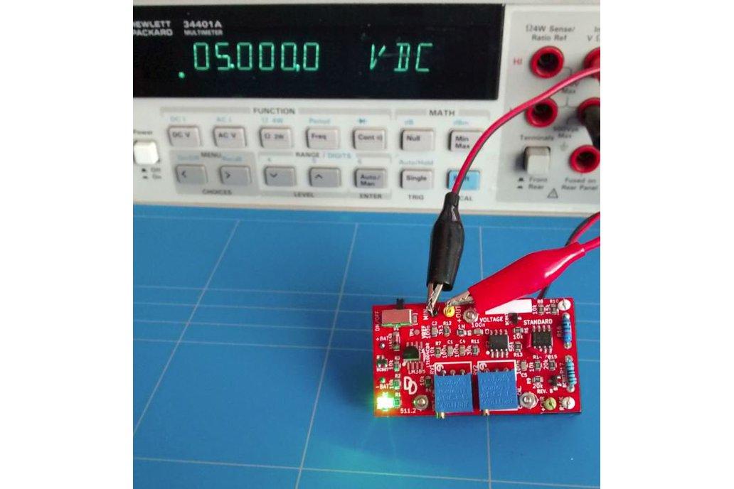 Voltage standard reference multimeter tester 1