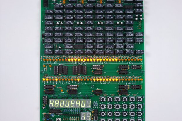 Single Board Relay Computer