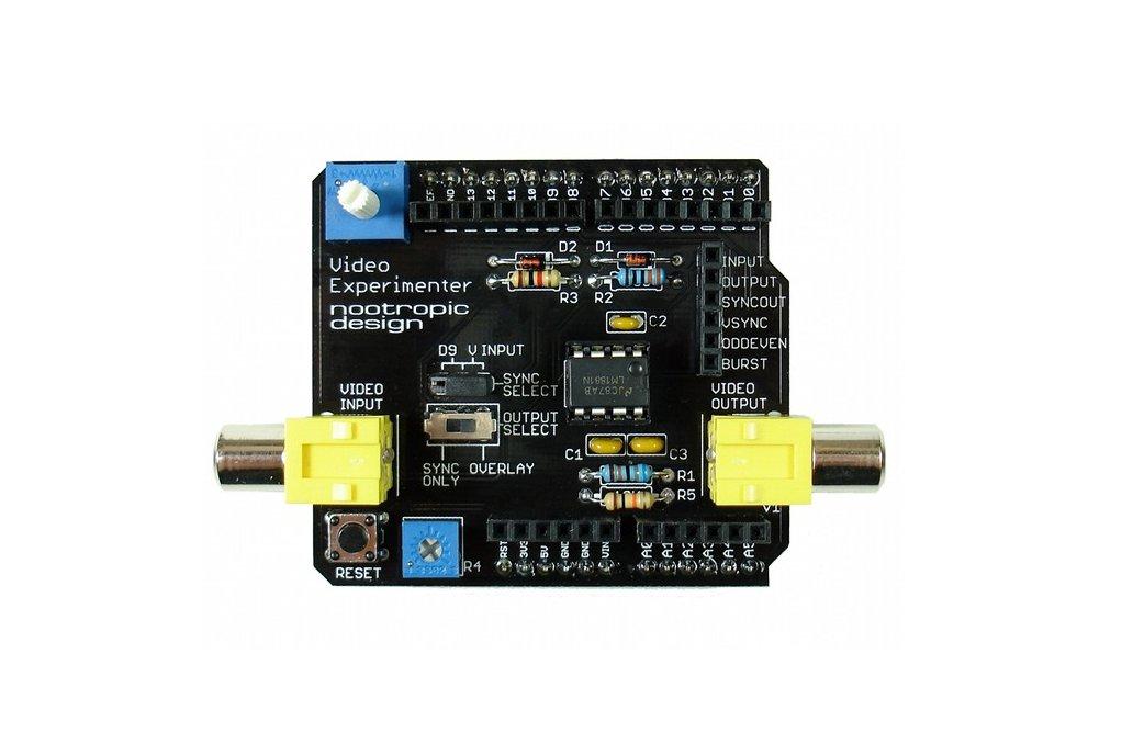 Video Experimenter Shield - Kit 1