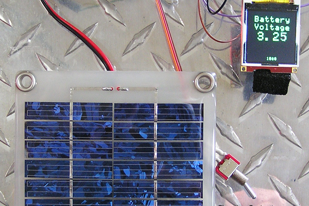 Solar Powered, Battery Back-Up Switching Regulator