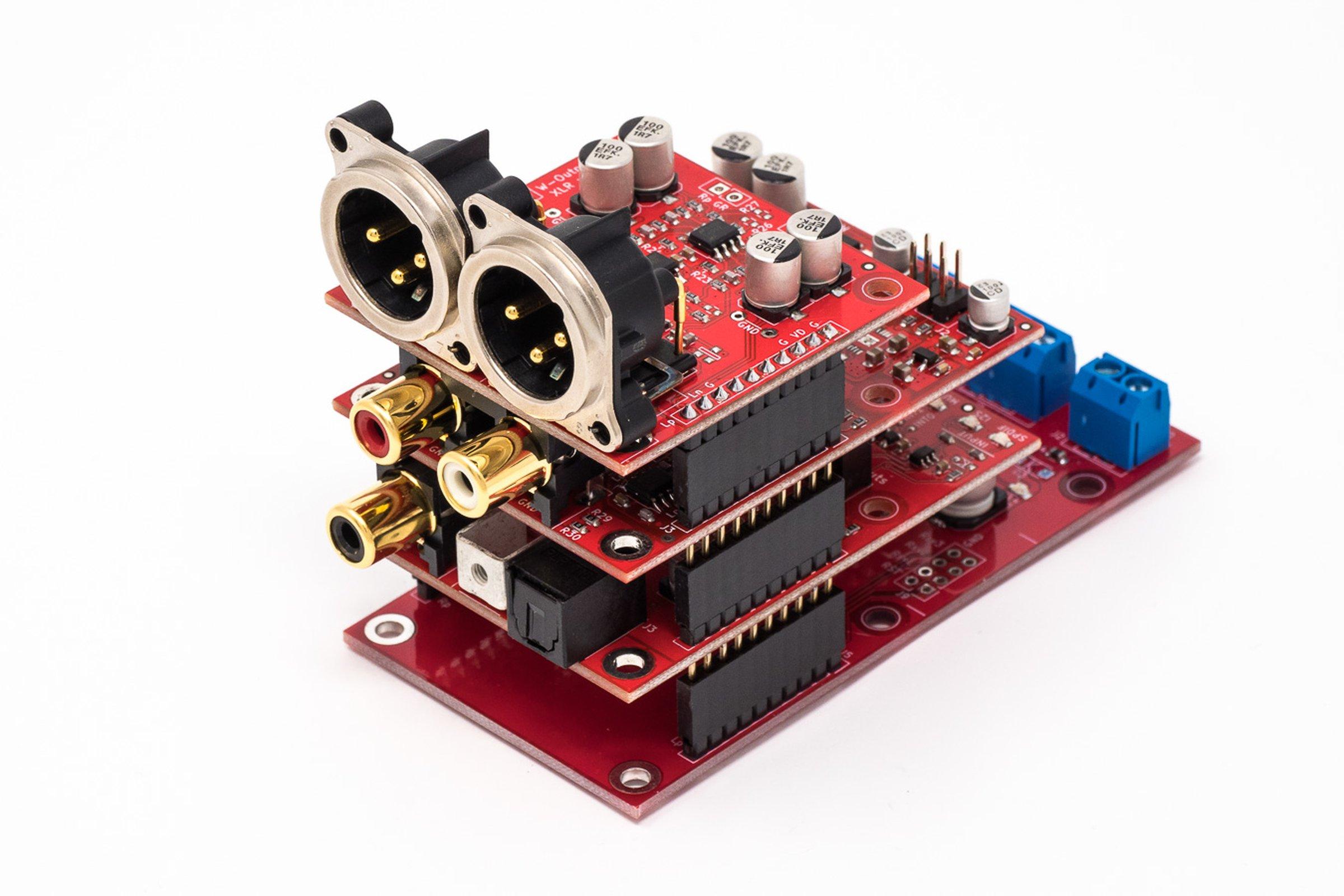 W-Input and W-DAC (and optional W-Output XLR addon)
