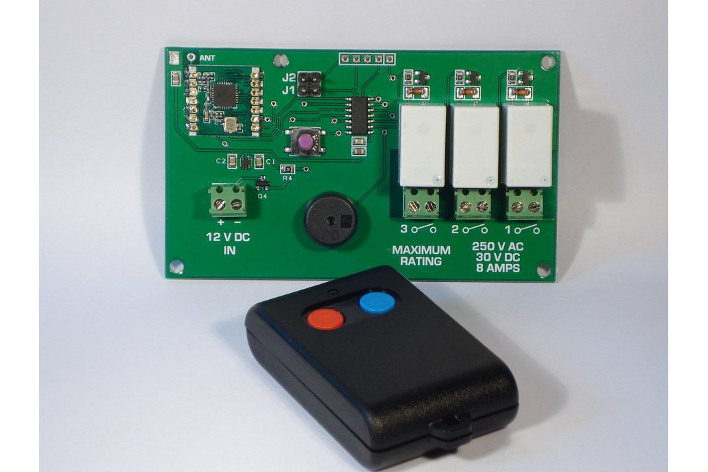 Rolling Code Transmitter and Receiver 1