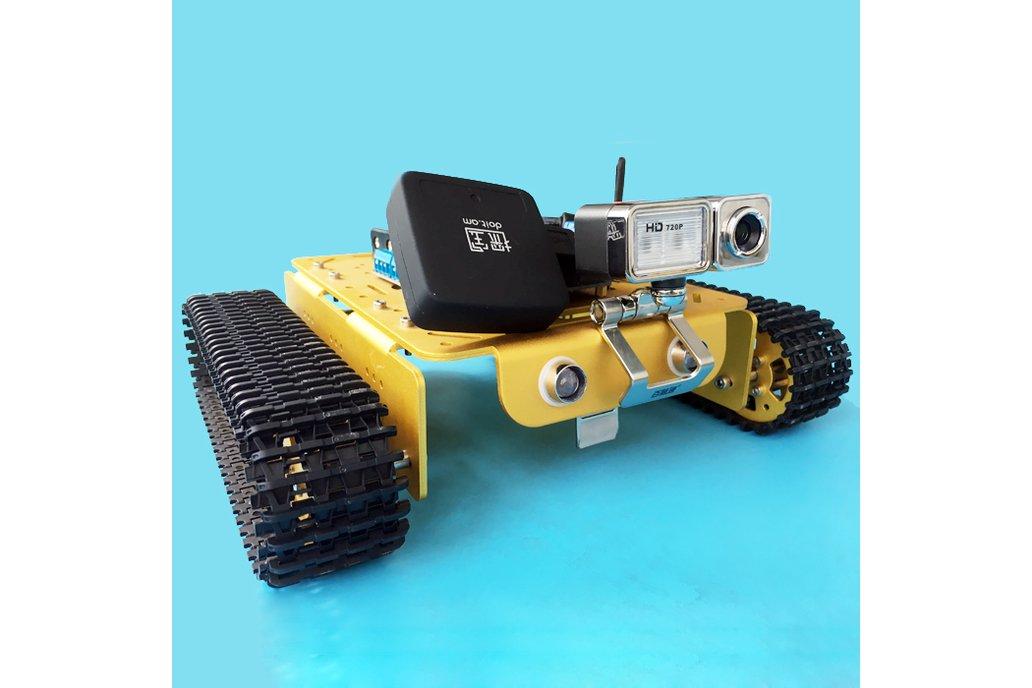 Video RC WIFI  Metal Robot Tank Chassis 4