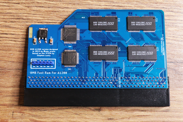 A1200 8MB FastRAM expansion for Amiga 1200 | ram