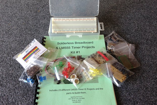 Timer Project Kit#1 w/ Solderless Breadboard