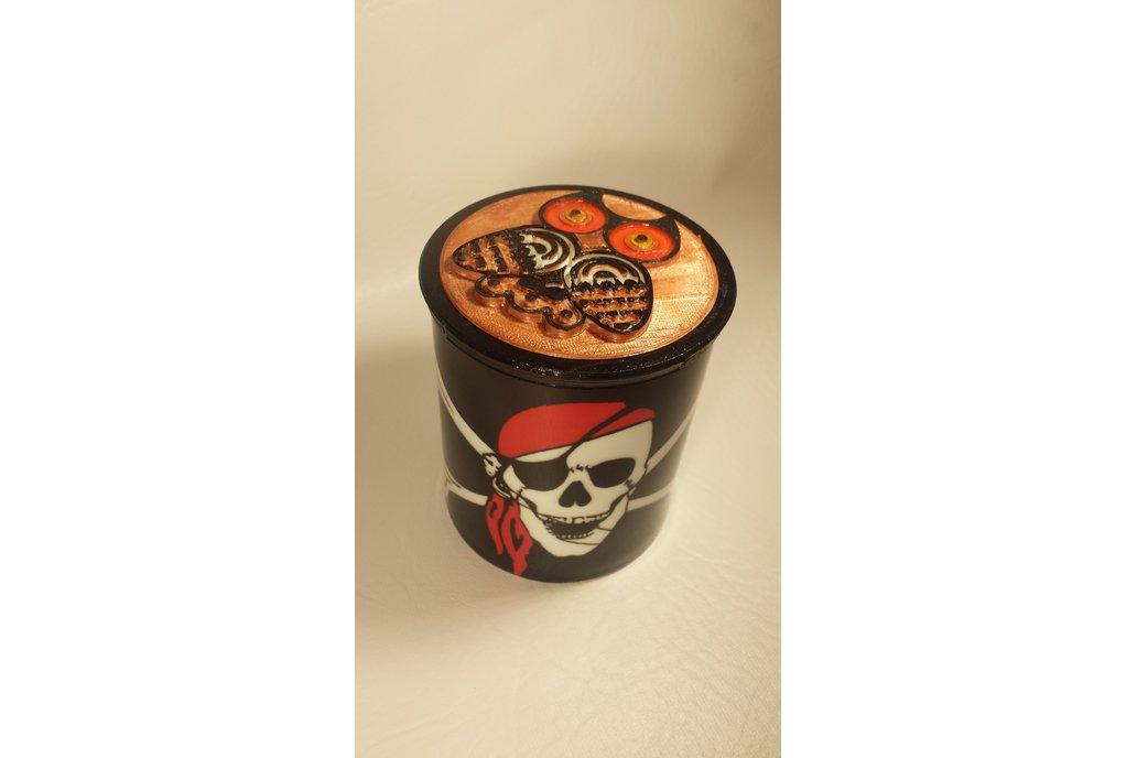 Cup/Mug - 12oz with 3D printed cap 8