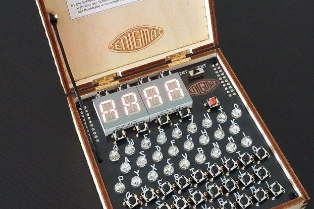 PicoEnigma, a Universal Enigma Machine Simulator