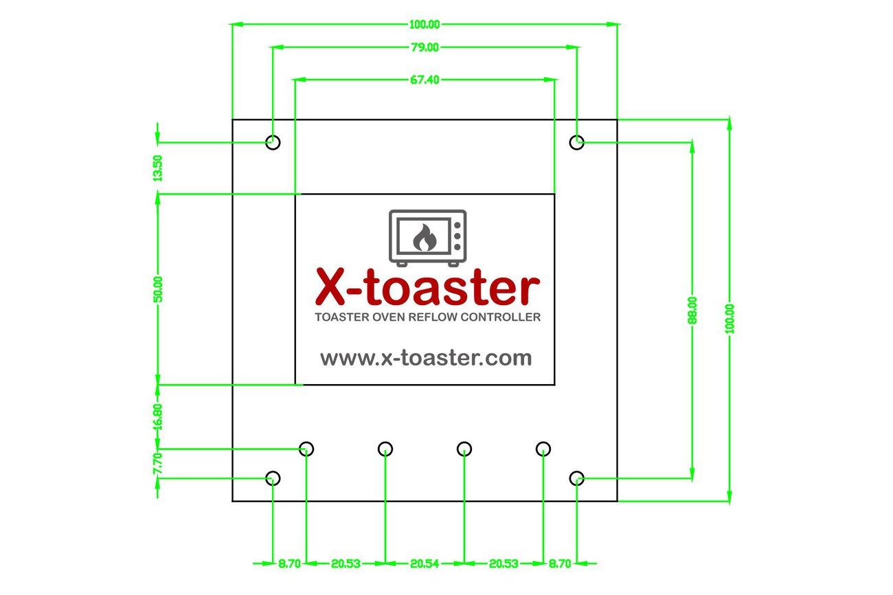 X-toaster | Toaster Oven Reflow Controller - KIT