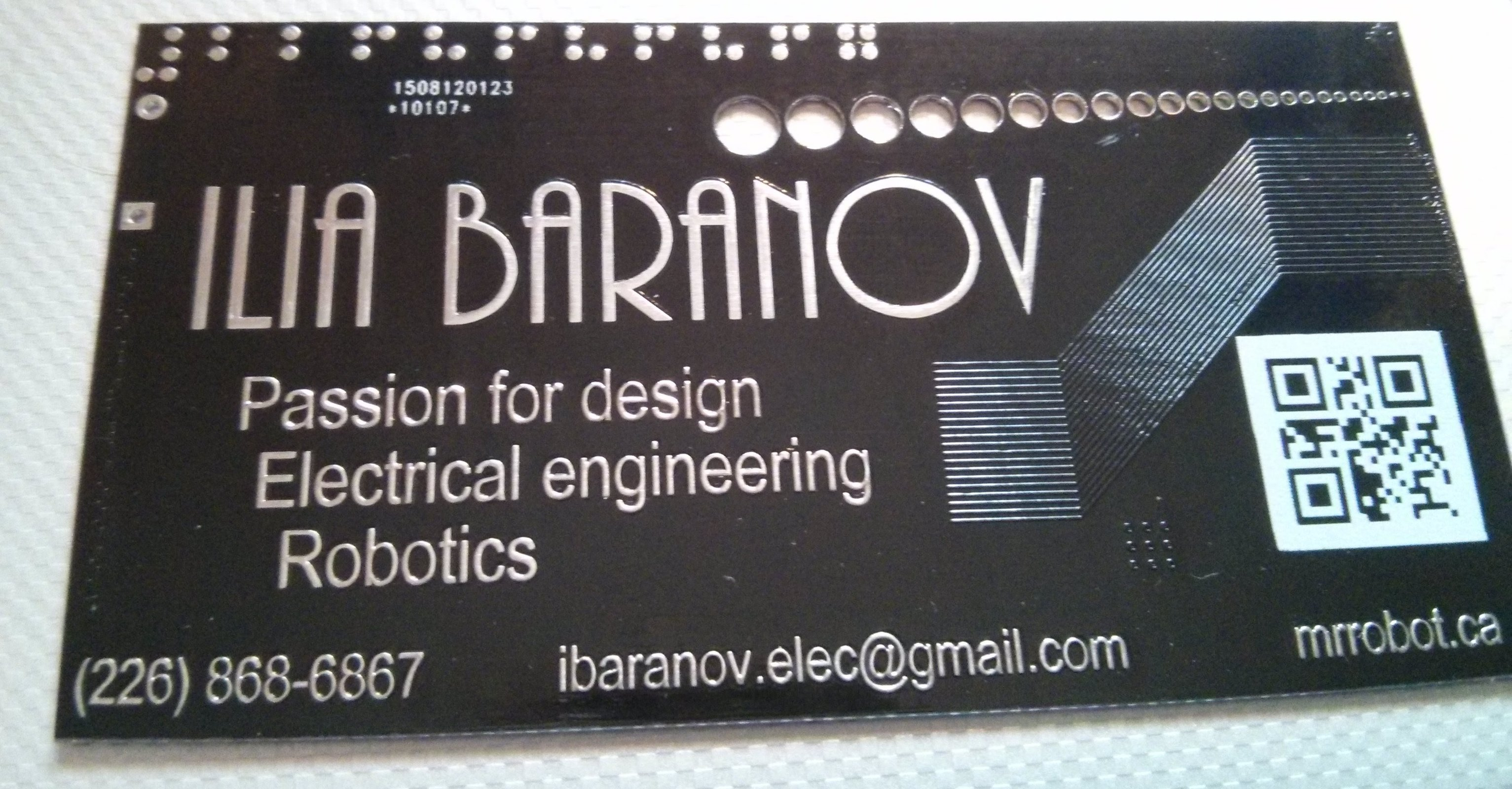 10x custom pcb business card from mr robot on tindie 10x custom pcb business card 4 colourmoves