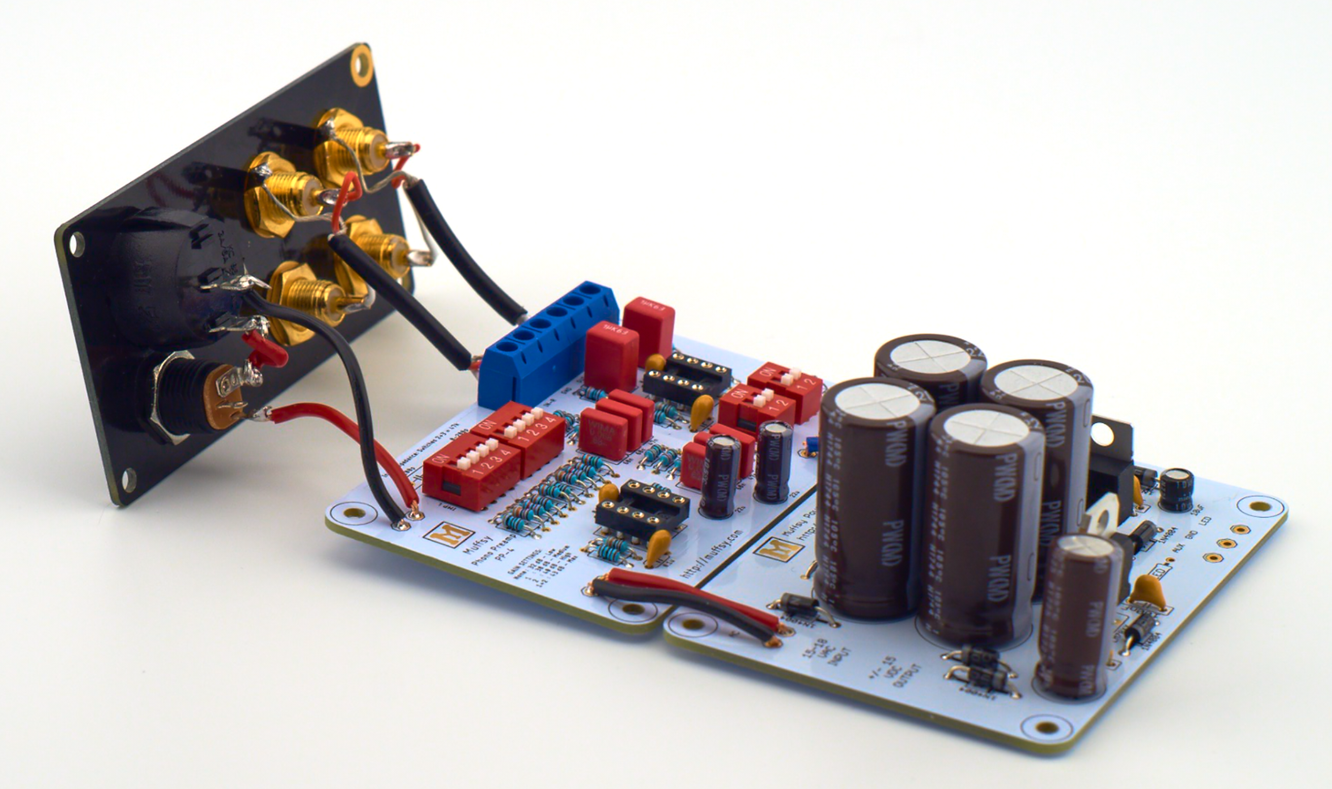 Muffsy Phono Preamp Kit From On Tindie 5532 Ic Mic Preamplifire Circuit 2