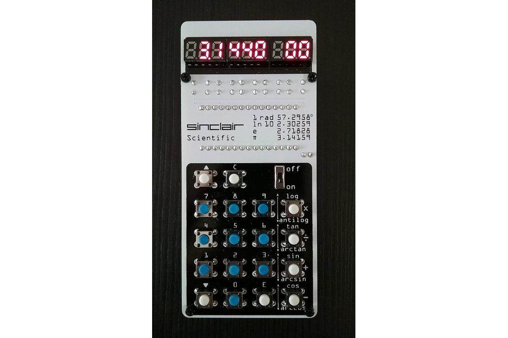 Sinclair Scientific Calculator Emulator 1