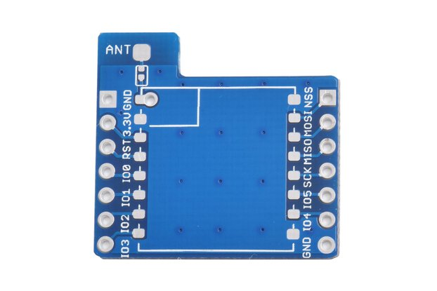 2pcs X LoRa module adapter breakout board