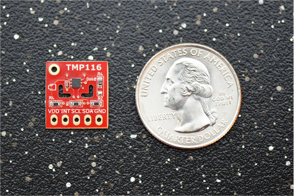 TMP116 ±0.2°C (–10°C..+85°C)  Temperature Sensor 2