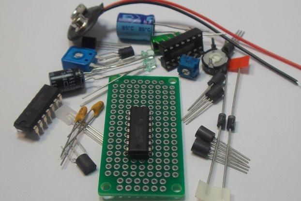 LM556 Dual Timer IC Kit