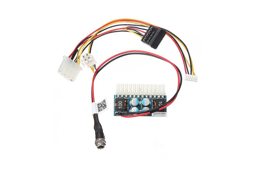 DC-ATX-160W Pico Switch PSU Car Auto Mini ITX ATX Power Supply Module 1