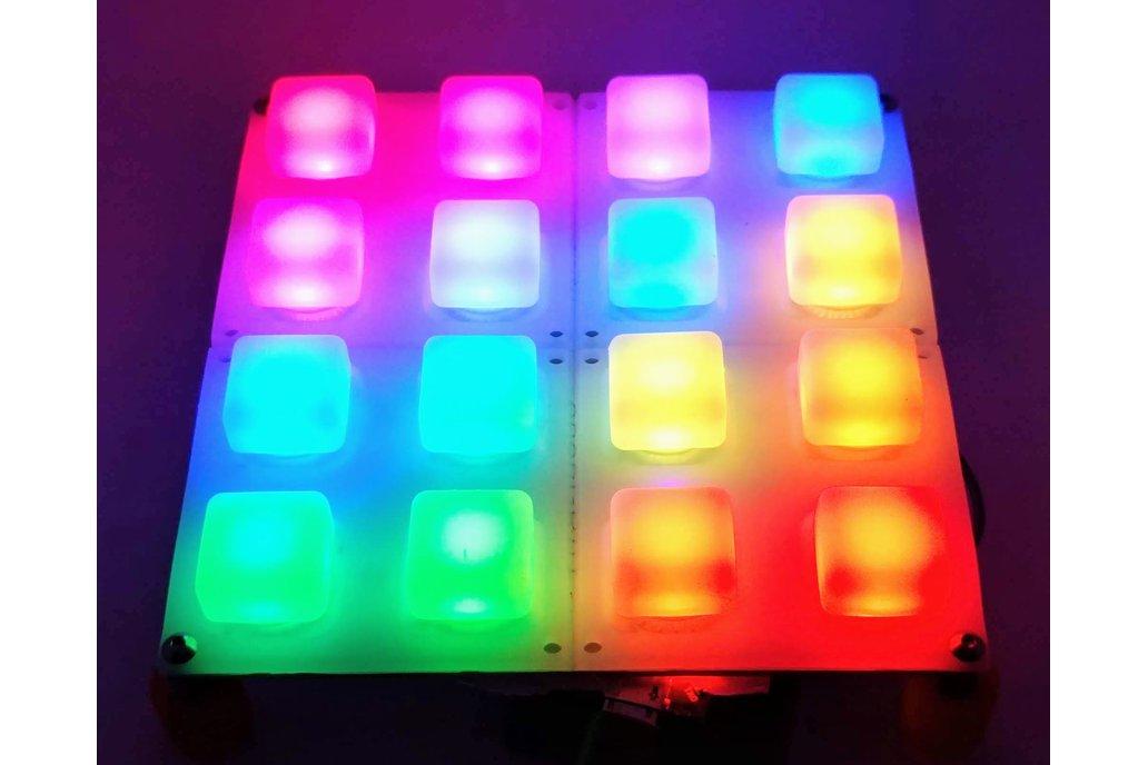 RGB 2x4 Button Pad Kit 1