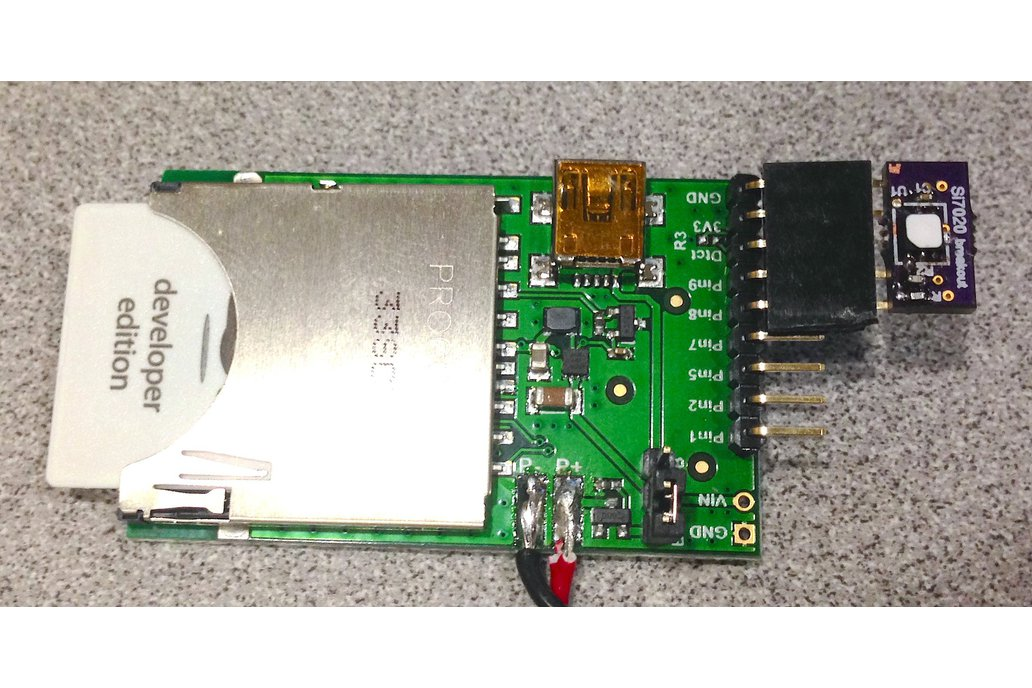 Si7020 Temperature and Humidity Breakout 1