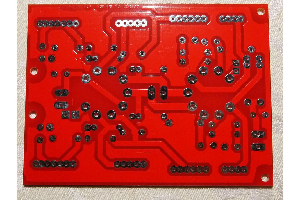 Universal PCB for tube preamp CCDA stage ECC88 3