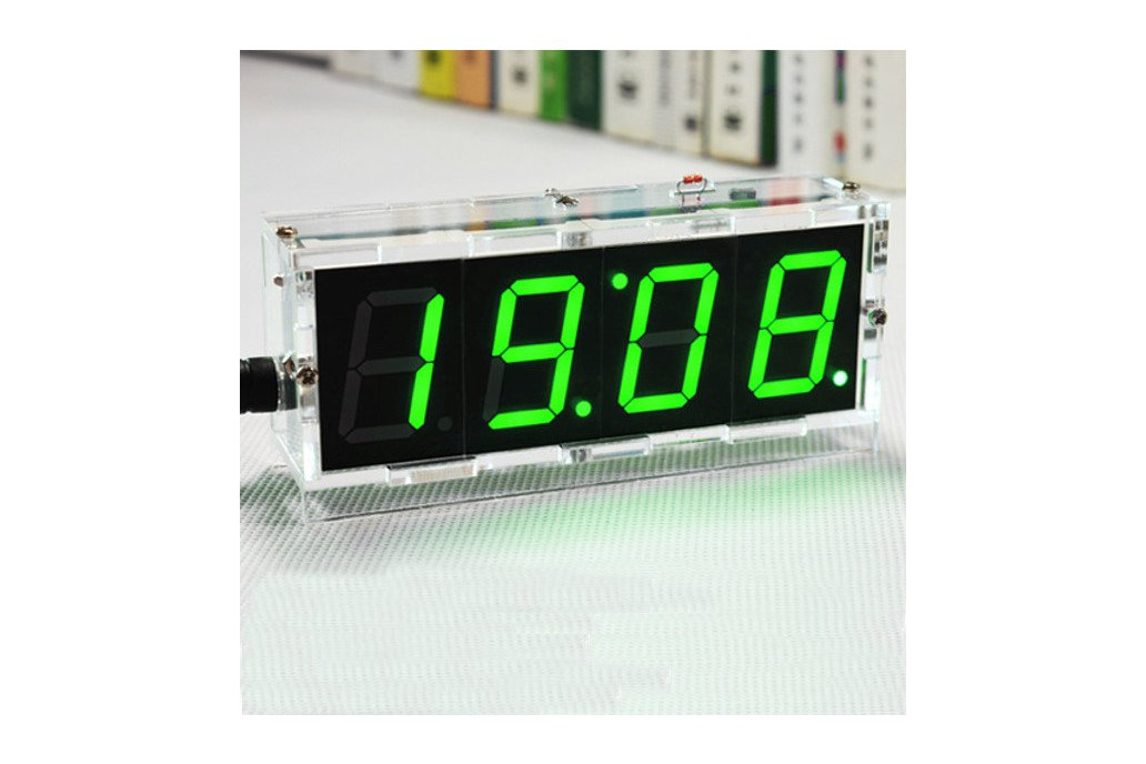 DIY 4 Digit LED Clock and thermometer 2