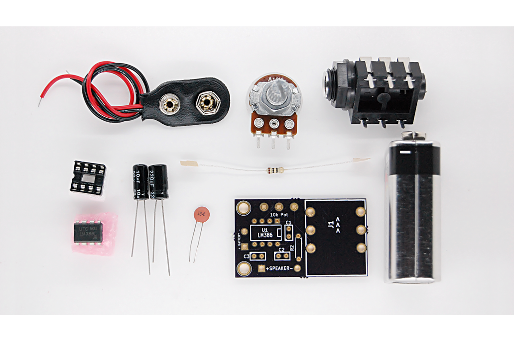 Tymkrs Amplify Me (LM386 Amplifier Kit) 3