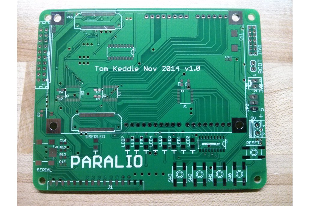 Paralio - IO for Parallella rev 1.0 PCB only 1