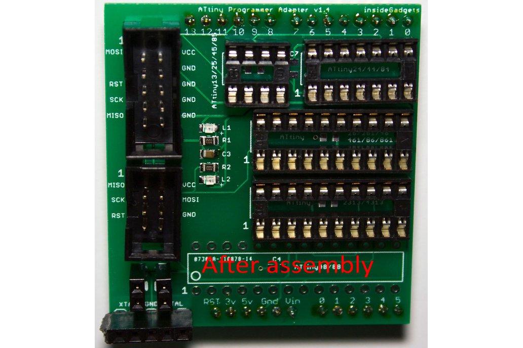 ATtiny Programmer Adapter PCB v1.4 1