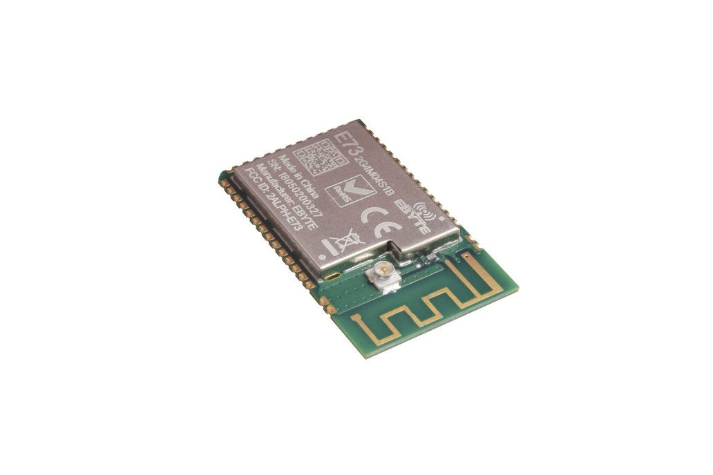 nrf52832 Bluetooth Module (CE, FCC, Half-Cut Hole) 1