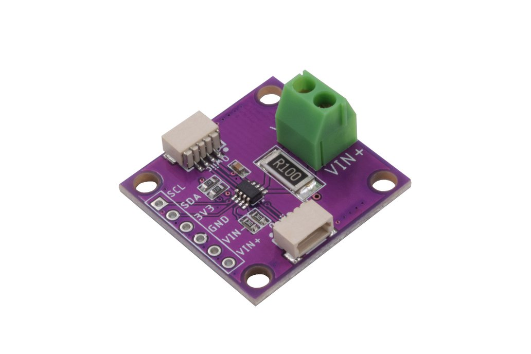Zio Qwiic Current & Voltage Sensor INA219 1