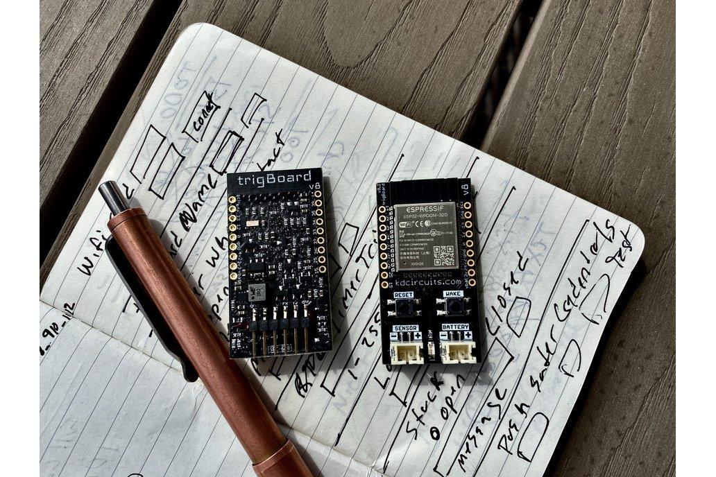 trigBoard - Ultra Low Power ESP32 IoT Platform 1