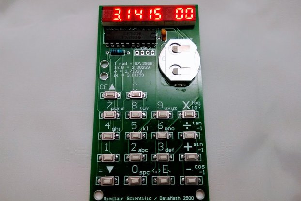 TI MSP430 Emulating Calculator Kit (2020 Version)