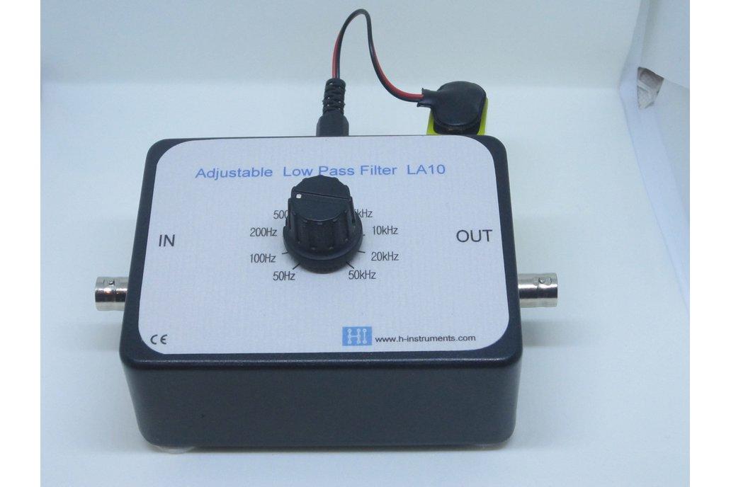 Low pass filter LA-10. Adjustable 1