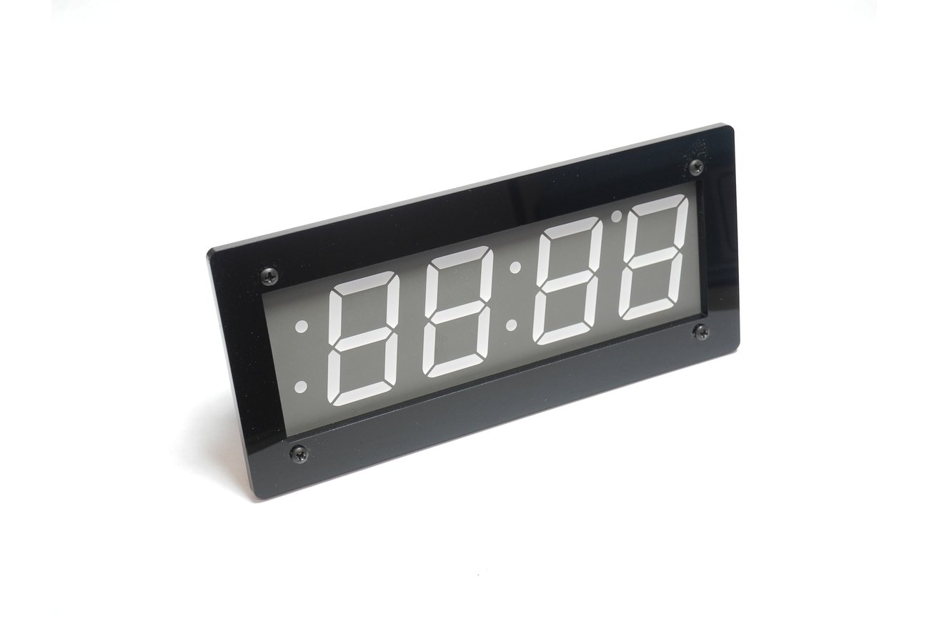 "Adafruit 1.2"" 4-Digit 7-Segment Display Bezel"