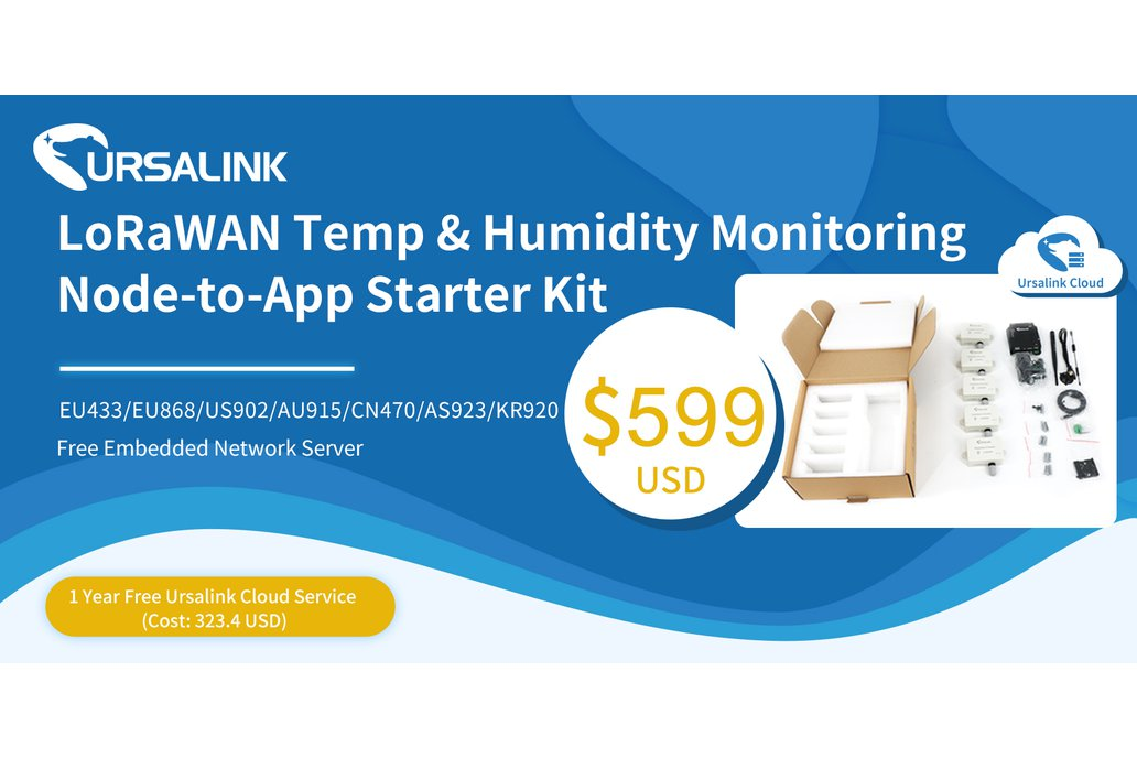 LoRa/LoRaWAN Temp&Humidity Node to App Starter Kit 1