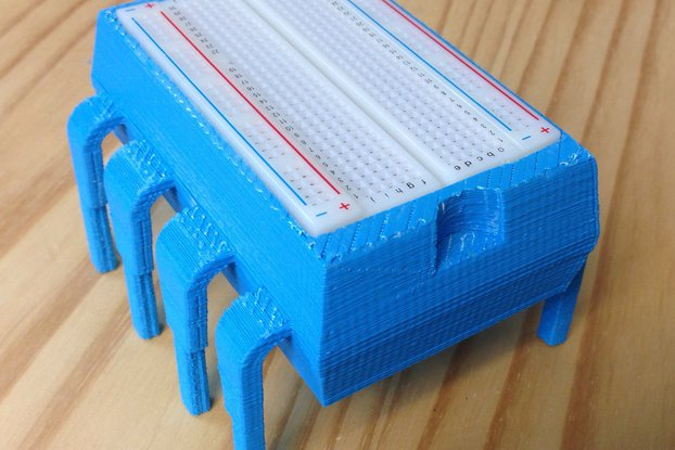 8-Pin DIP Plastic Storage Box & Breadboard Holder