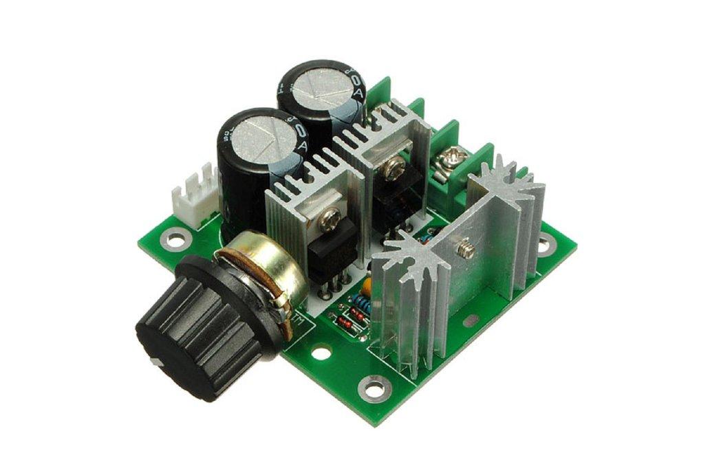 12V-40V 10A Modulation PWM DC Motor Speed Control 1