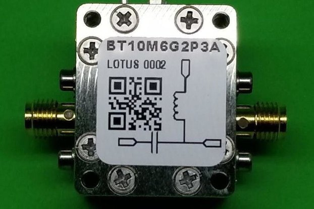 Bias Tee Broadband 10 MHz to 6 GHz Max. 2.3A 50V