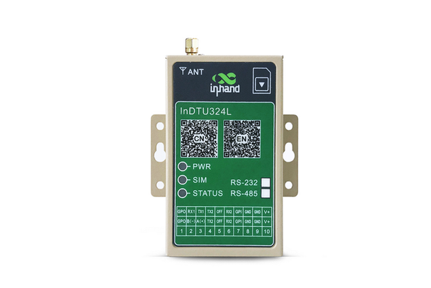InDTU324 Industrial Serial to Cellular 4g Modem