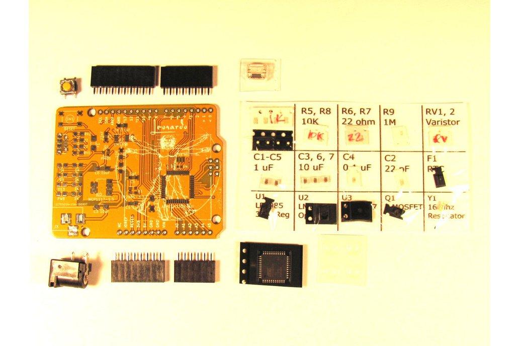 Arduino Leonardo Clone Kit 3