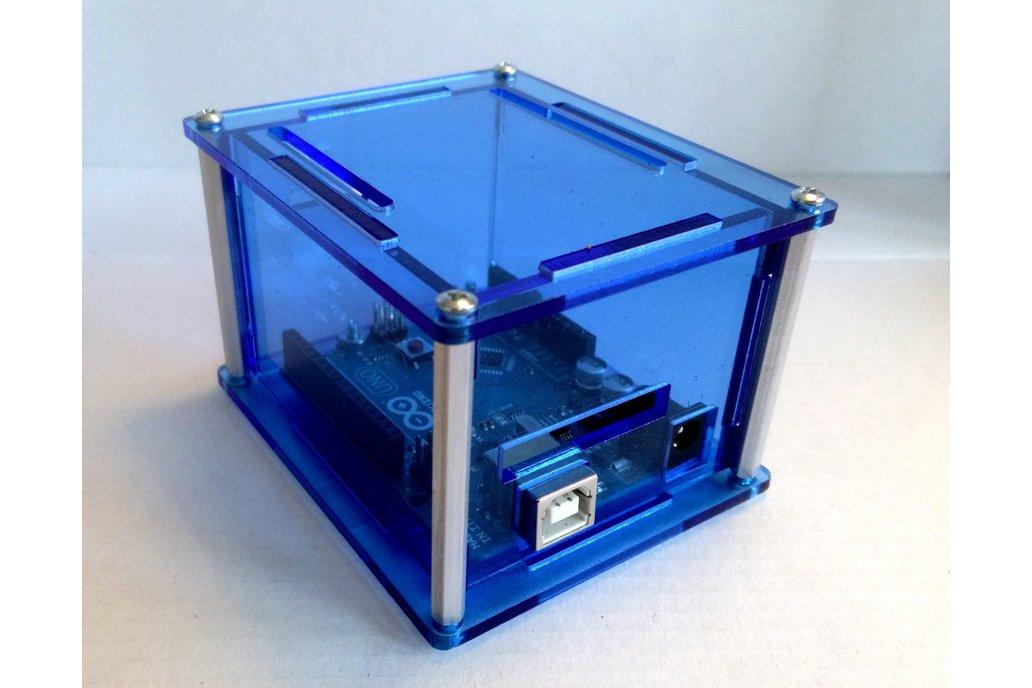 """Arduino Uno Project Enclosure """"Duo II"""" 5"""