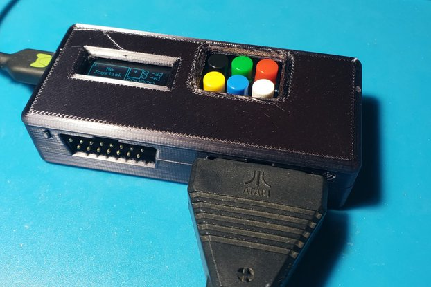 Atari 5200 Controller to USB Adapter - Dual Ports!
