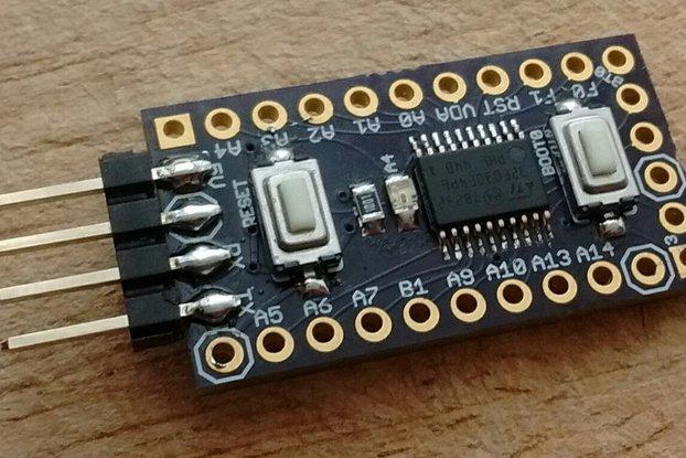 STM32F030F4P6 breakout