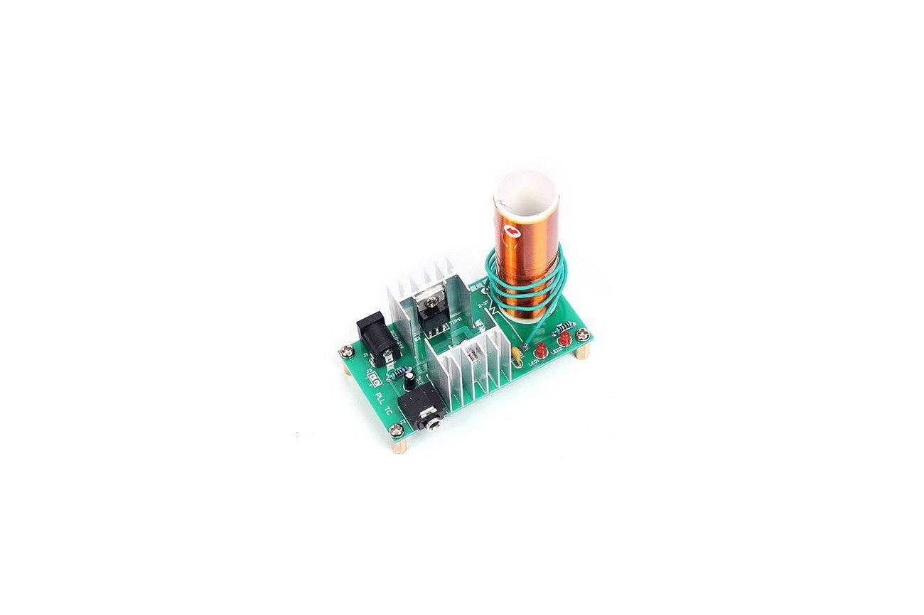 Mini Tesla Coil Plasma Arc Speaker DIY Kit (13034)