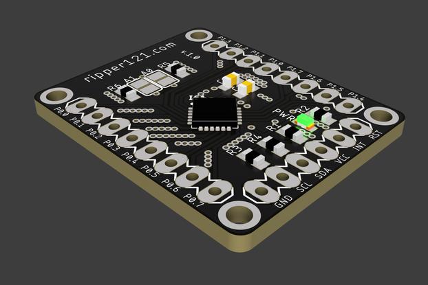AW9523 Breakout 16 I/O Port-Expander LED Driver
