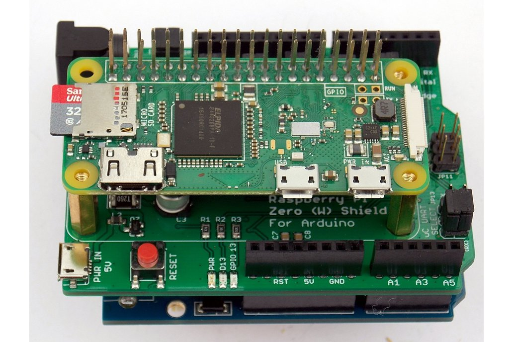 Raspberry Pi Zero (W) Shield for Arduino 4