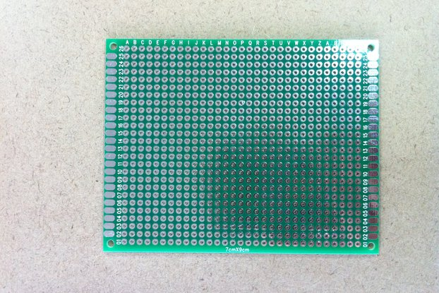 Double-sided prototyping board - 70x90mm