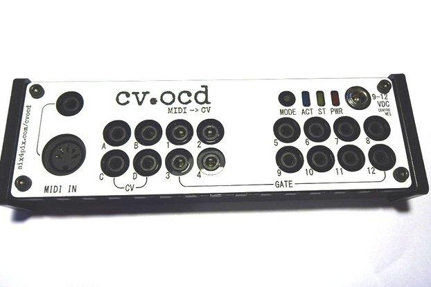 CV.OCD - A super flexible MIDI to CV box
